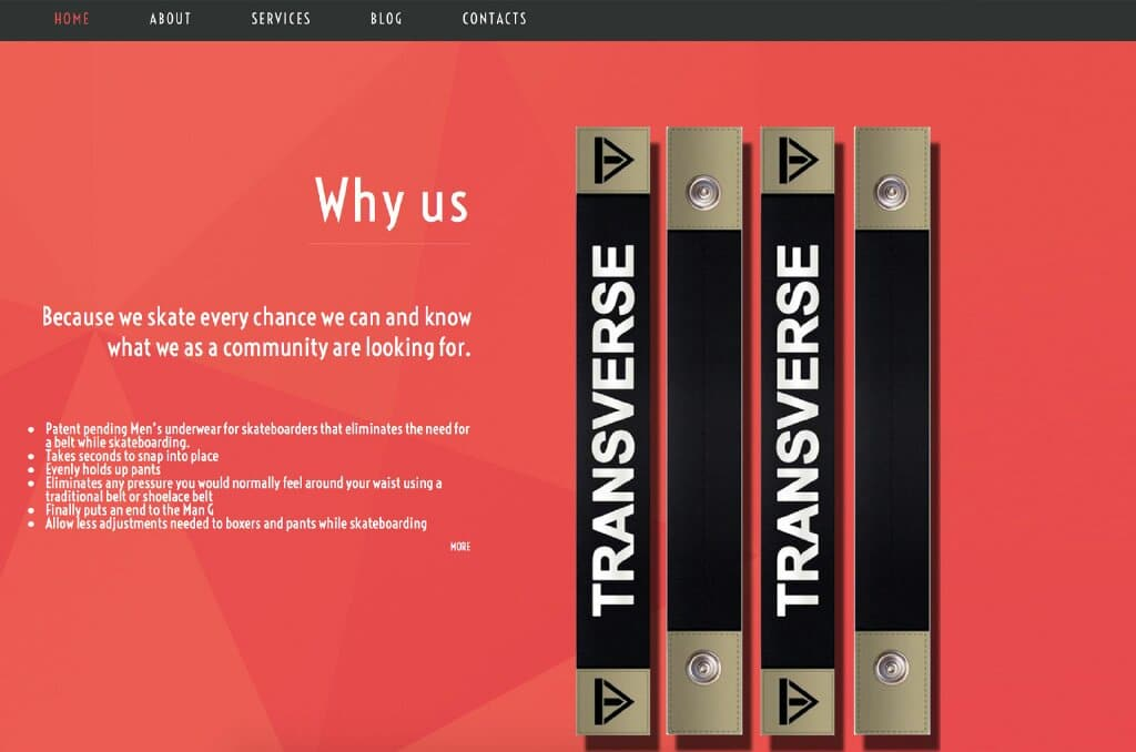 about us page from transverseco.com